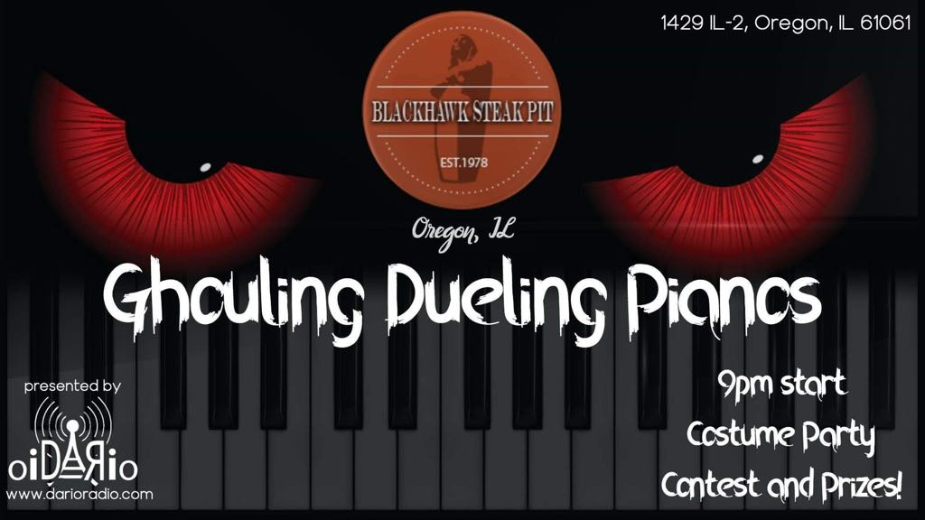 Ghouling Dueling Pianos – Nov 2nd