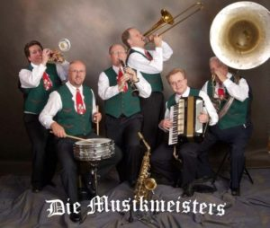 Die Musikmeisters play Oktoberfest Lunch – 10/15