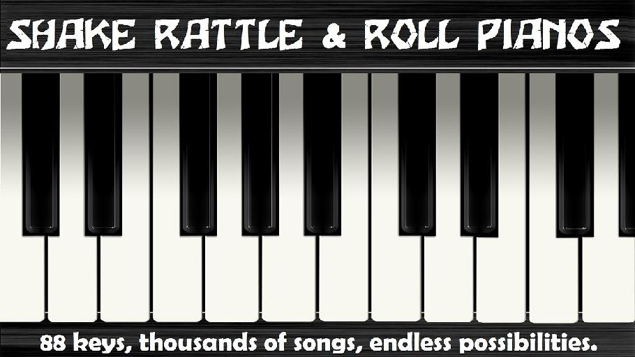 Shake, Rattle and Roll Dueling Pianos – Wednesdays – 11/27