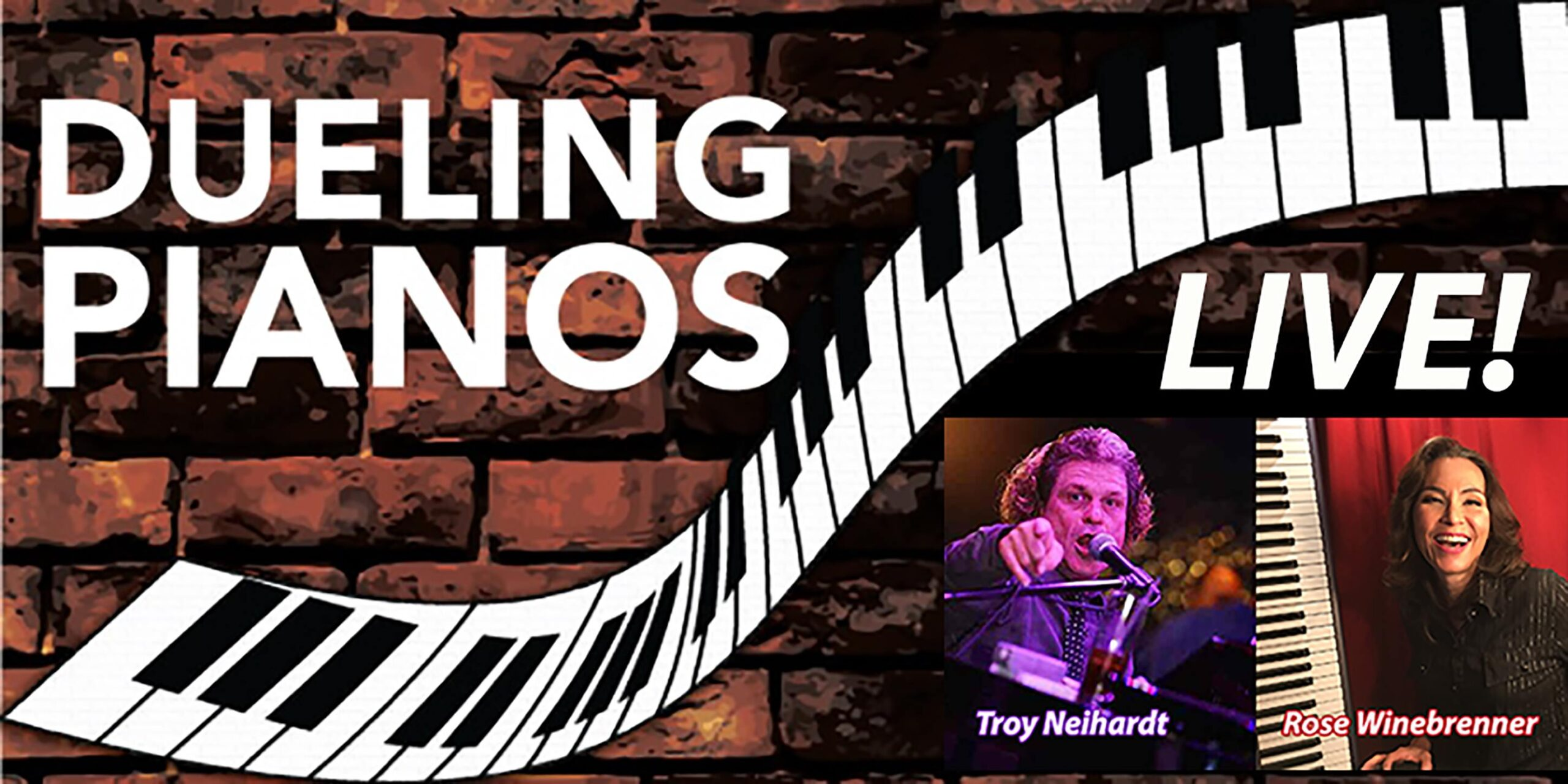 Howlin' on Water Dueling Pianos – 7/16-17