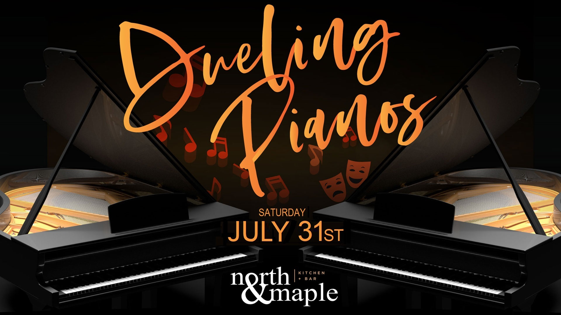 Dueling Pianos at North & Maple – 7/31